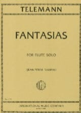 TELEMANN - 12 Fantasias - Sheet Music - di-arezzo.co.uk