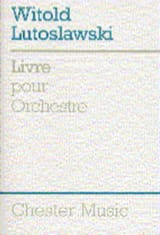 Witold Lutoslawski - Book for Orchestra - Score - Partitura - di-arezzo.it