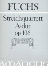 Robert Fuchs - Streichquartett A Dur op. 106 –Stimmen - Partition - di-arezzo.fr