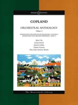 Aaron Copland - Orchestral Anthology Volume 2 - Conducteur - Partition - di-arezzo.fr