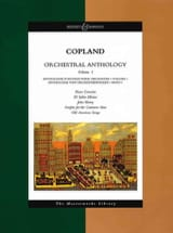 Orchestral Anthology Volume 1 - Conducteur COPLAND laflutedepan