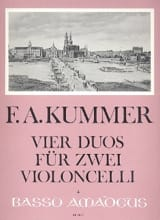 Friedrich-August Kummer - 4 Duets for 2 Violoncelli - Sheet Music - di-arezzo.co.uk