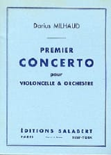 Darius Milhaud - Concerto No. 1 for cello - Sheet Music - di-arezzo.com