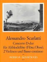 Concerto D-Dur -Altblockflöte 2 Violinen BC laflutedepan.com