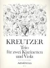 Trio für 2 Klarinetten und Viola -Partitur + Stimmen laflutedepan.com