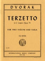Terzetto in C major op. 74 – Score - Antonin Dvorak - laflutedepan.com