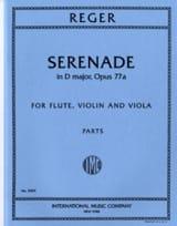 Serenade in D major op. 77a -Flute violin viola - Parts laflutedepan.com