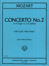 Concerto n° 2 in D major KV 314 – Flute piano - laflutedepan.com