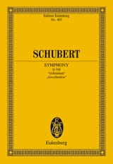 Franz Schubert - Symphonie N° 7 (8) H-Moll - Score - Partition - di-arezzo.fr