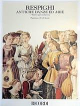 Antiche Danze ed Arie - Conducteur Ottorino Respighi laflutedepan.com