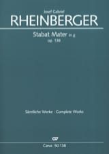 Stabat Mater g-Moll op. 138 – Partitur laflutedepan.com