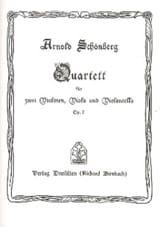 Arnold Schoenberg - Streichquartett Nr. 1 op. 7 – Partitur - Partition - di-arezzo.fr