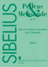 Jean Sibelius - Pelleas and Melisande, op. 46 - Partitur - Sheet Music - di-arezzo.com