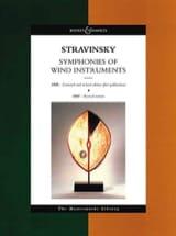 Igor Stravinsky - Symphonie of wind instruments – Score - Partition - di-arezzo.fr
