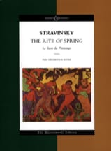 Igor Stravinsky - The Rite of Spring - Score - Sheet Music - di-arezzo.co.uk