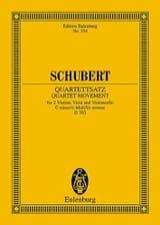 Streich-Quartett C-Moll, Op. Posth. (D 703) SCHUBERT laflutedepan.com