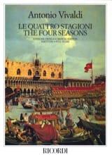 Le quattro stagioni – Partitura - Antonio Vivaldi - laflutedepan.com