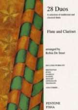 - 28 Duos - Flute clarinet - Sheet Music - di-arezzo.co.uk