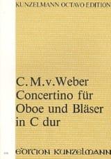 Concertino für Oboe und Bläser in C-Dur – Partitur - laflutedepan.com
