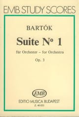 Suite n° 1 op. 3 pour orch. – Conducteur - laflutedepan.com