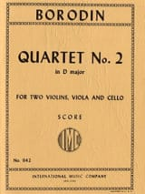 String Quartet n° 2 D major – Score - laflutedepan.com