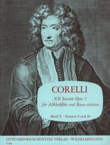 CORELLI - 12 Sonaten op. 5 - Bd. 5 - Altblockflöte u. Bc - Sheet Music - di-arezzo.co.uk
