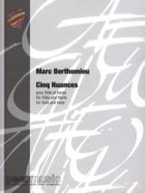 5 Nuances - Marc Berthomieu - Partition - Duos - laflutedepan.com
