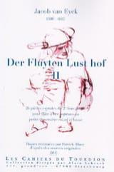Der Fluyten Lust-Hof Volume 2 Jacob van Eyck laflutedepan.com
