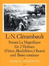 Sonata La Magnifique - 2 Violinen u. Bc laflutedepan.com