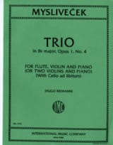 Trio in Bb major, op. 1 n° 4 - Flute, violin, piano laflutedepan.com