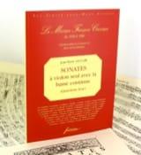 4ème Livre des Sonates à Violon Seul Avec Basse Continue laflutedepan.com
