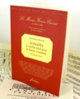 Sonates 3ème livre - Fac simile Jean-Marie Leclair laflutedepan.com