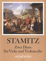 Carl Stamitz - 2 Duos für Viola und Violoncello - Partition - di-arezzo.fr