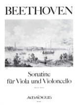 BEETHOVEN - Sonatine for Viola und Cello - Sheet Music - di-arezzo.co.uk