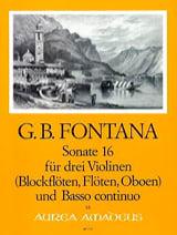 Sonate Nr. 16 für 3 Violinen u. Bc laflutedepan.com