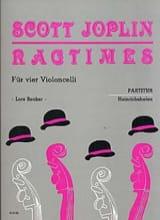 Ragtimes für 4 Violoncelli – Partitur - laflutedepan.com