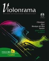 Violonrama - Volume 1A Partition Violon - laflutedepan.com