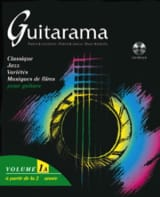 Guitarama Volume 1A Partition Guitare - laflutedepan