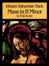 Messe en Si Mineur - Full Score BACH Partition laflutedepan.com
