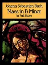 BACH - Messe en Si Mineur - Full Score - Partition - di-arezzo.fr