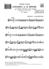 VIVALDI - Concerto in so minor op. 3 n ° 10 / F. 4 n ° 10 - Equipment - Sheet Music - di-arezzo.com