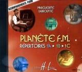 CD - Planète FM Volume 1 - Accompagnement piano - laflutedepan.com