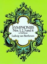 BEETHOVEN - Symphonies N ° 1, 2, 3 - 4 - Sheet Music - di-arezzo.co.uk
