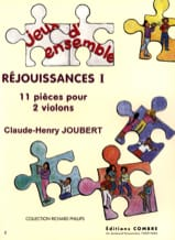 Claude-Henry Joubert - Celebrations 1 - Sheet Music - di-arezzo.com
