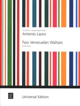 Antonio Lauro - 2 Venezuelan Waltzes -Guitar solo - Partition - di-arezzo.fr