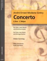 Concerto en Do Maj. - Flûte et Piano laflutedepan.com