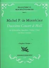 Deuxième Concert d-moll - Altblockflöte laflutedepan.com