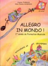 Virgine THARAUD et Anne-Violaine SZABADOS - Allegro in mondo - Partition - di-arezzo.fr