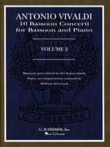 Antonio Vivaldi - 10 Bassoon Concerti - Volume 2 - Partition - di-arezzo.fr