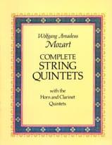 Complete String Quintets MOZART Partition laflutedepan.com